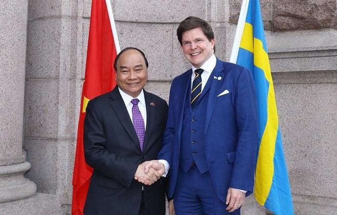 Swedish parliament speaker pledges to push through EU-Vietnam free trade deal - ảnh 1