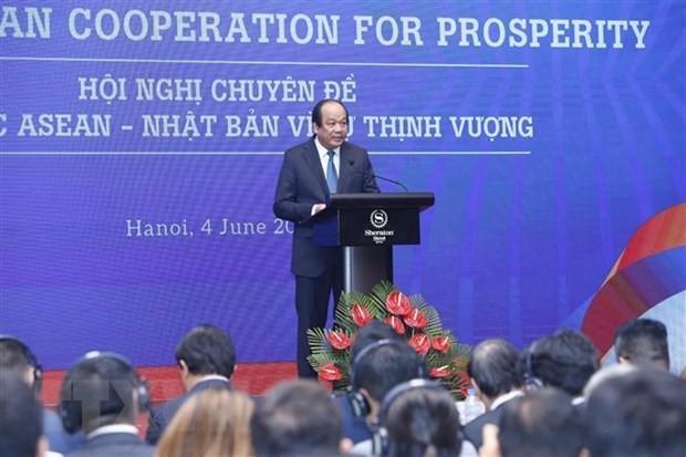 ASEAN, Japan strengthen cooperation for prosperity - ảnh 1