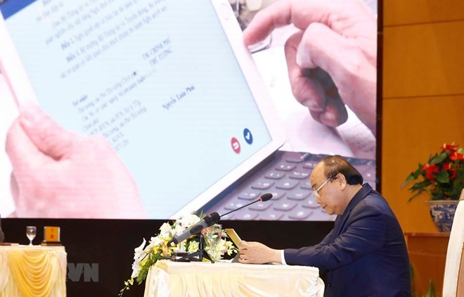 Government launches e-Cabinet system  - ảnh 1
