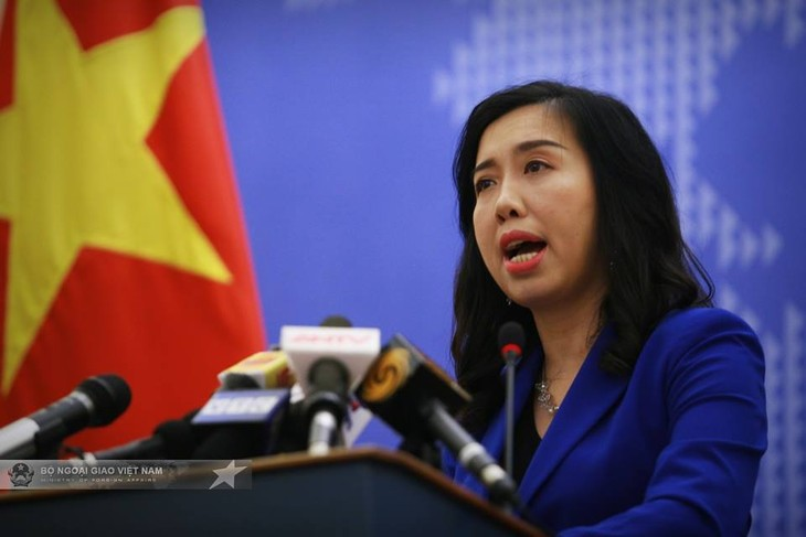Vietnam resolved to fight violations of its sea areas: spokesperson  - ảnh 1