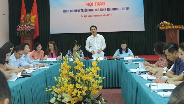 More children's councils to be established by 2021 - ảnh 1