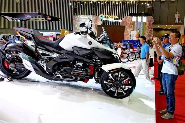 Vietnam motorcycle market ranks 4th in world - ảnh 1
