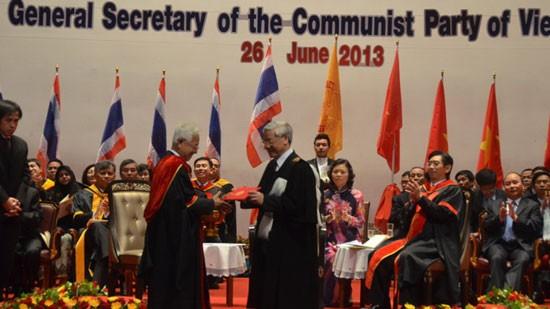 ภารกิจของท่านเลขาธิการใหญ่พรรคคอมมิวนิสต์เวียดนามในประเทศไทย - ảnh 1