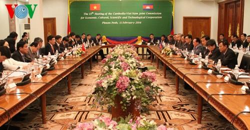ความสัมพันธ์เวียดนาม-กัมพูชานับวันพัฒนาอย่างดีงาม - ảnh 1