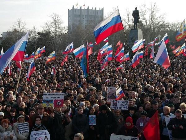 ประเทศยูเครนกับความท้าทายหลังเหตุผันผวนทางการเมือง - ảnh 1