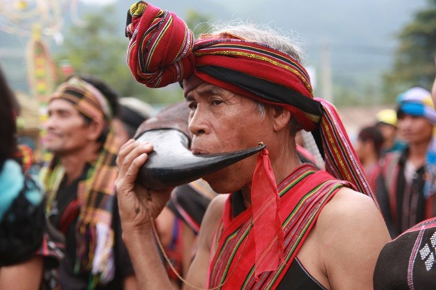 งานเทศกาล อาเรียวปิง ของชนเผ่า ปาโก - ảnh 2
