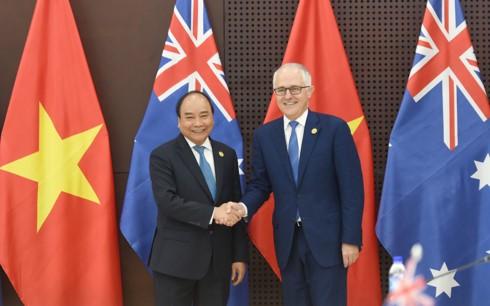 แถลงการณ์ร่วมเวียดนาม-ออสเตรเลีย - ảnh 1