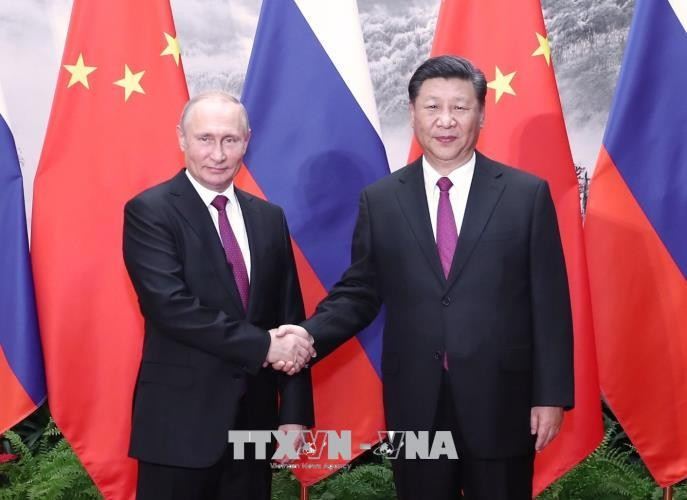 จีนและรัสเซียผลักดันความสัมพันธ์หุ้นส่วนยุทธศาสตร์ในทุกด้าน - ảnh 1