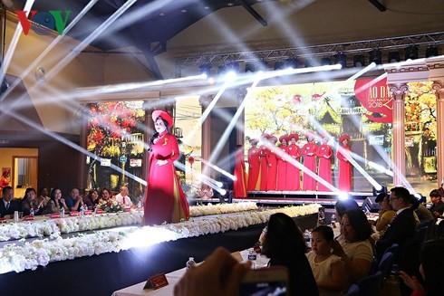 การประกวดรอบชิงชนะเลิศชุด Ao dai สำหรับภรรยาชาวเวียดนามในยุโรป ณ สาธารณรัฐเช็ก - ảnh 1