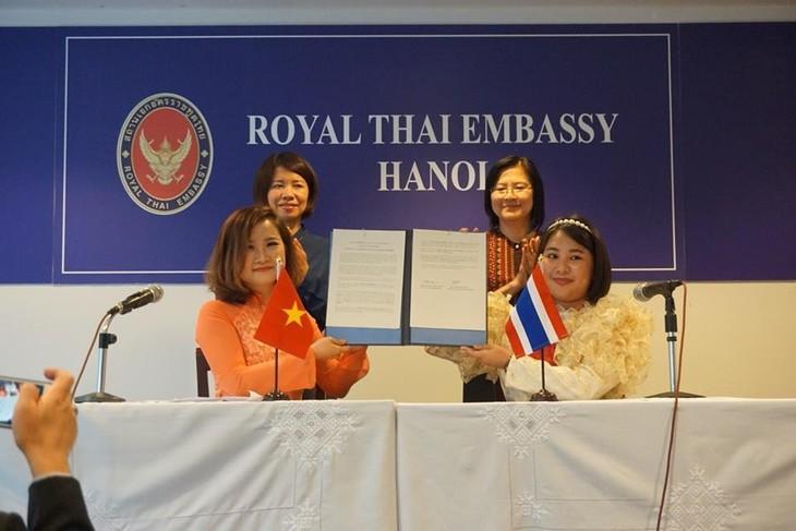 แถลงการณ์ร่วมเยาวชนไทย – เวียดนาม - ảnh 1