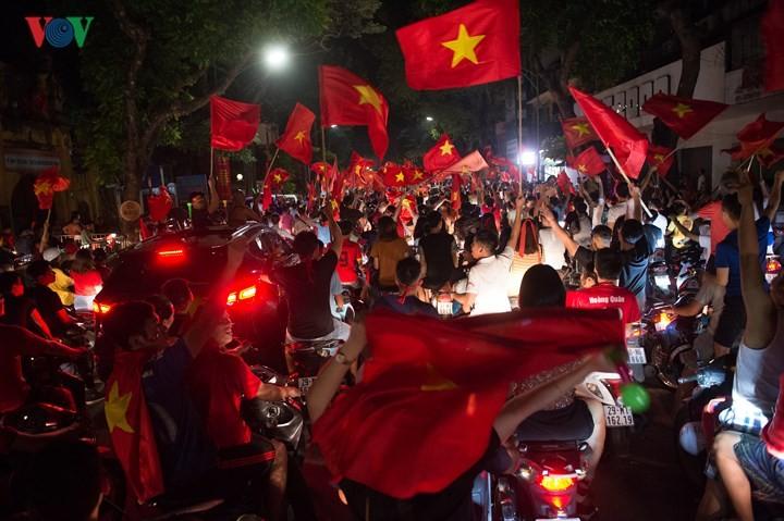 เอเชี่ยนเกมส์ 2018 วันที่27สิงหาคม ฟุตบอลชายเวียดนามและกรีฑาสร้างผลงานครั้งประวัติศาสตร์  - ảnh 5