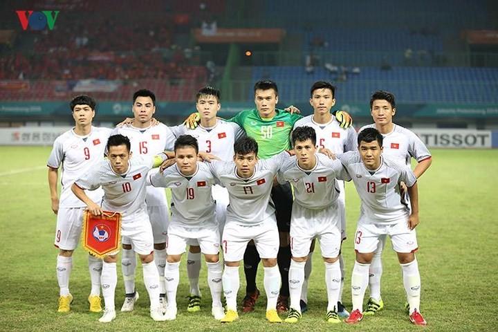 เอเชี่ยนเกมส์ 2018 วันที่27สิงหาคม ฟุตบอลชายเวียดนามและกรีฑาสร้างผลงานครั้งประวัติศาสตร์  - ảnh 1
