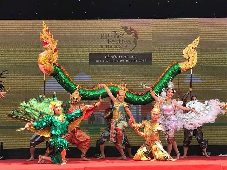 """สีสันงาน"""" 10 th Thai Festival in Hanoi 2018"""" - ảnh 4"""