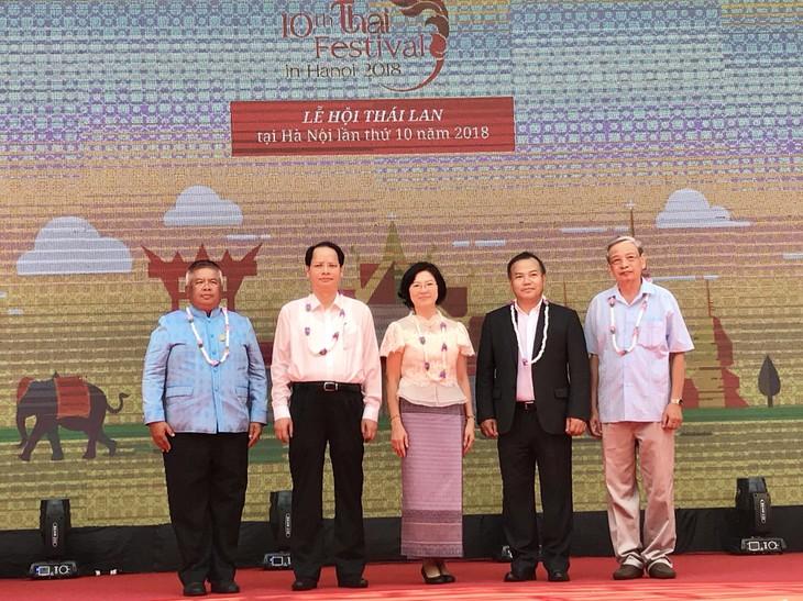 เปิดงานThai Festival ครั้งที่ 10 ณ กรุงฮานอย  - ảnh 2