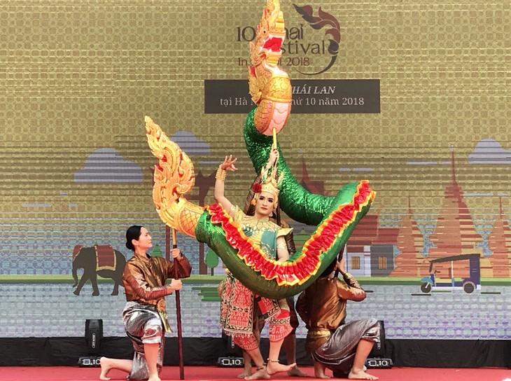 """สีสันงาน"""" 10 th Thai Festival in Hanoi 2018"""" - ảnh 6"""