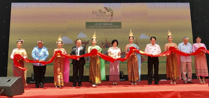 เปิดงานThai Festival ครั้งที่ 10 ณ กรุงฮานอย  - ảnh 1