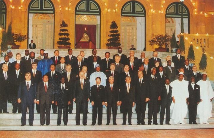 ภาพอดีตเลขาธิการใหญ่พรรคฯ โด๋เหมื่อยกับผู้นำประเทศต่างๆ - ảnh 24