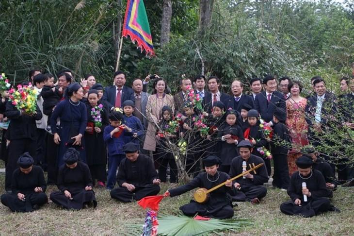 เต๊ต เกิมเม้ย ของชนเผ่าไตในเขตเขาตอนบนของเวียดนาม - ảnh 1
