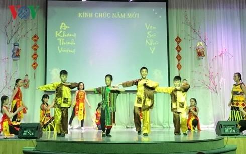 ชมรมชาวเวียดนามในต่างประเทศจัดกิจกรรมต้อนรับตรุษเต๊ตปีกุล - ảnh 1
