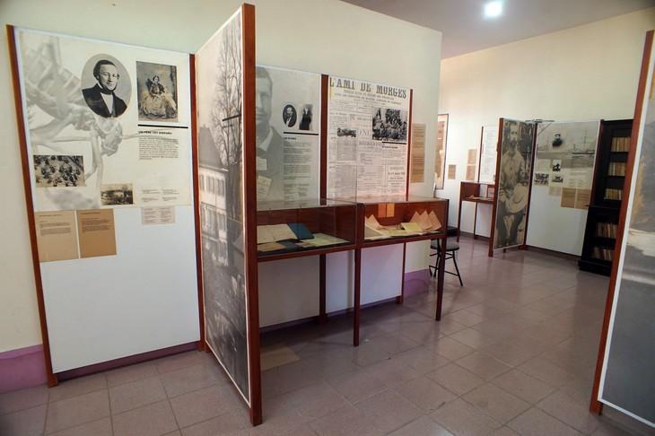 พิพิธภัณฑ์อเล็กซานเดอร์ เยอร์ซิน เมืองญาจาง - ảnh 2