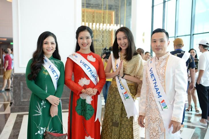 กิจกรรมของนักร้องจากประเทศอาเซียน ณ จังหวัดกว๋างนิงห์ - ảnh 7