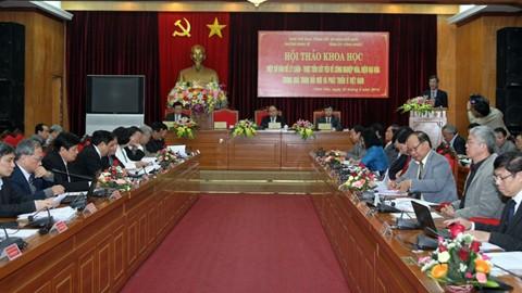 Modernization and industrialization aid Vietnam's development - ảnh 1