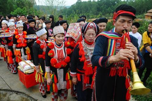 Panpipe playing at Dao weddings - ảnh 1