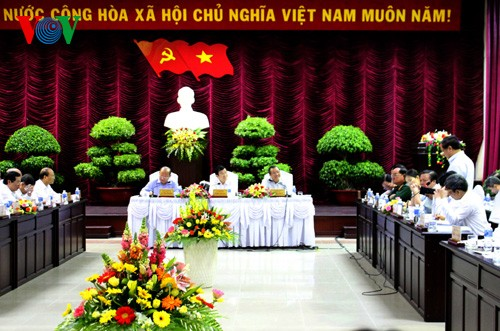 President Truong Tan Sang pays working visit to Binh Thuan province - ảnh 1