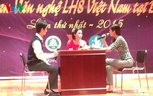 Art program of Vietnamese students in Beijing  - ảnh 1