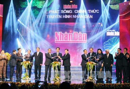 People's TV channel inaugurated - ảnh 1