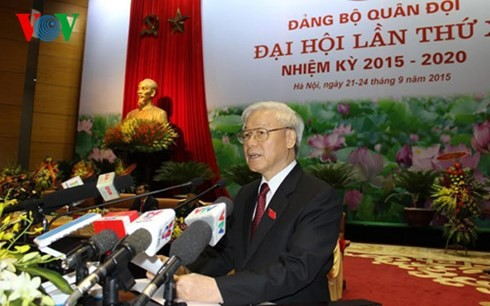 Military Party Congress opens - ảnh 2