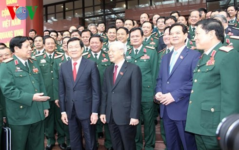 Military Party Congress opens - ảnh 1