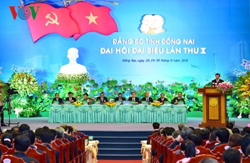10th Party Congress of Dong Nai province opens - ảnh 1