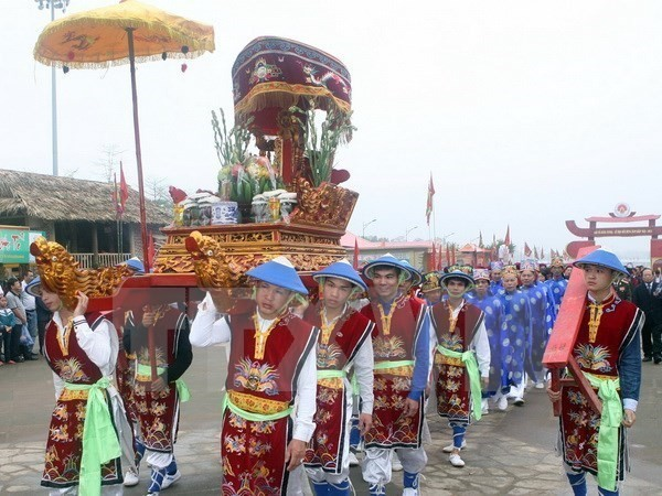 Upcoming Hung Kings Temple festival given facelift - ảnh 1