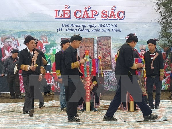 Dao maturity rite recognized as intangible cultural heritage - ảnh 1