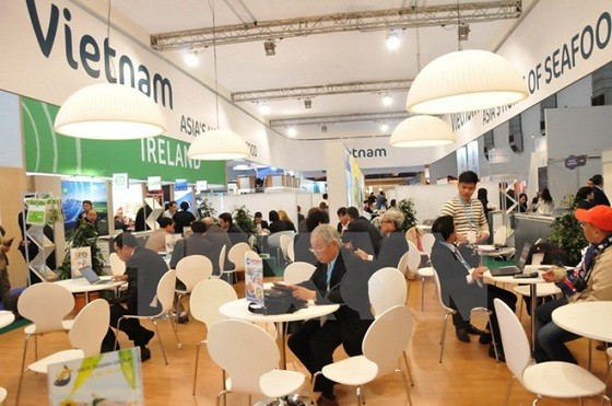 Vietnam attends Seafood Expo Global 2016 in Belgium - ảnh 1