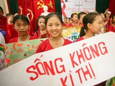 Vietnam's national plan of action for children affected by HIV/AIDS - ảnh 1