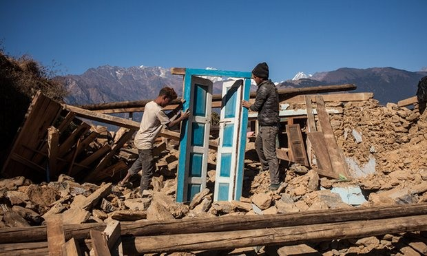 Nepal recovers from strong earthquake - ảnh 1