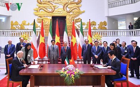 Kuwaiti PM concludes Vietnam visit - ảnh 1