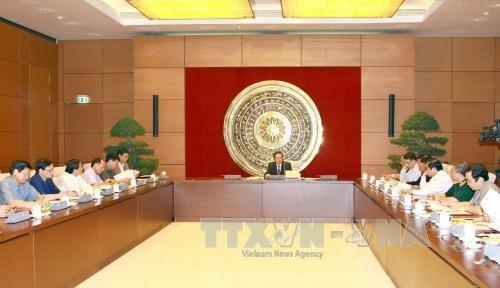 越南国家选举委员会社会安全和秩序保障小组举行第3次会议 - ảnh 1