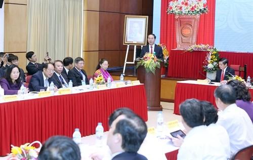 陈大光:工会组织要积极履行保护劳动者正当合法权益和代表职责 - ảnh 1