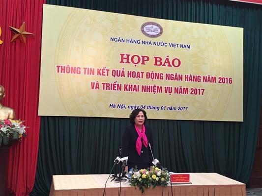 2016年越南银行部门确保有效安全运营 - ảnh 1
