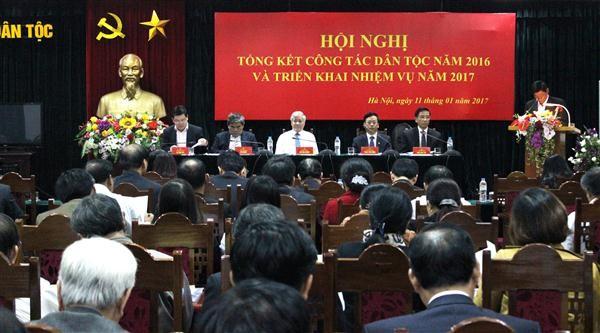越南民族委员会部署2017年工作任务 - ảnh 1