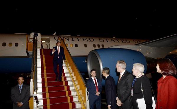 美国国务卿克里访问越南 - ảnh 1