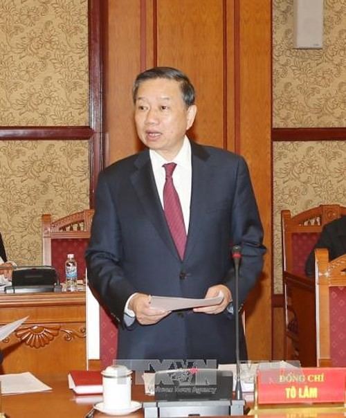 越南公安部长苏林会见中国国家安全部长陈文清 - ảnh 1