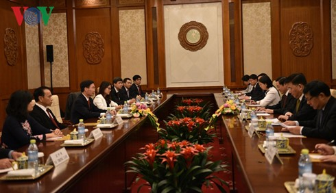 越中两党、两国关系是双方宣教领域合作的基础 - ảnh 1
