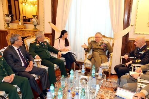 越南和意大利第一次国防政策对话 - ảnh 1