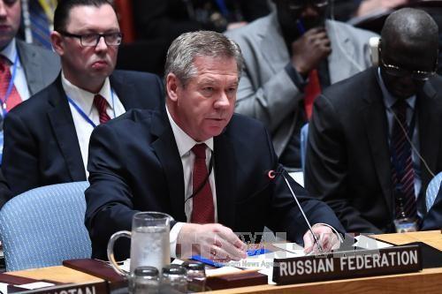俄罗斯谴责美国有关俄罗斯在联合国被孤立的声明 - ảnh 1