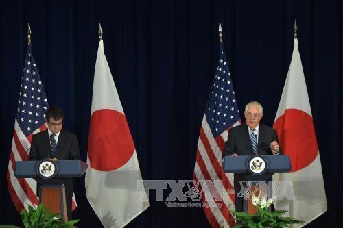 美日韩统一对朝鲜射导问题的立场 - ảnh 1