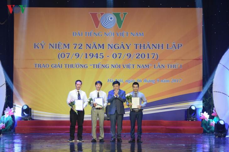 越南之声广播电台举行建台72周年庆祝活动 - ảnh 1